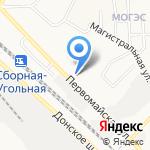 Кровля на карте Новомосковска