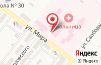 Схема проезда до компании Районная больница №3 в Ахтырском