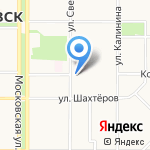 Россельхозбанк на карте Новомосковска