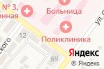 Схема проезда до компании Центральная районная больница в Ахтырском