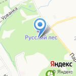 Лига пейнтбола Тульской области на карте Новомосковска