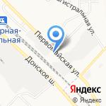 Данила Мастер на карте Новомосковска
