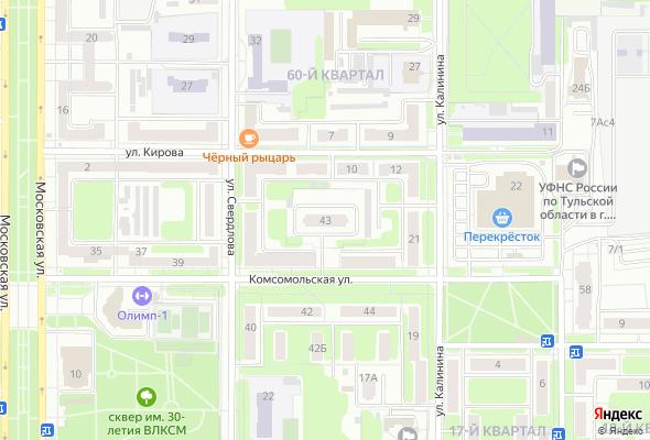 купить квартиру в ЖК Комсомольская