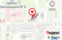 Схема проезда до компании Фс и К в Новомосковске