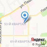 Травмпункт на карте Новомосковска