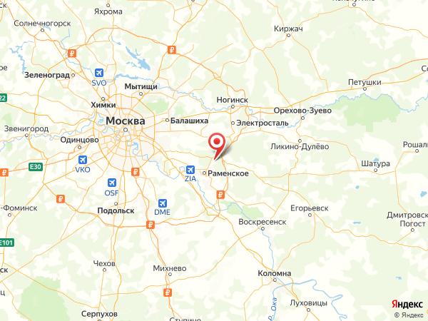 село Игумново на карте