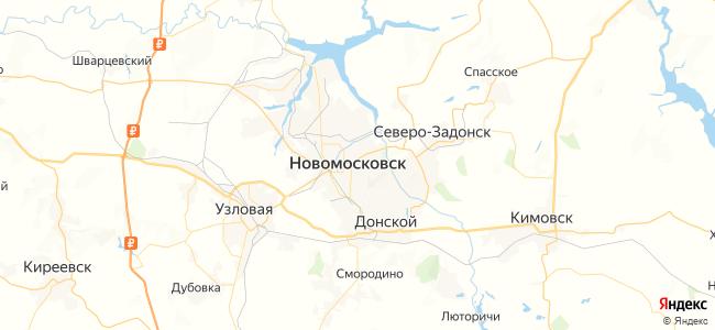 154 маршрутка в Новомосковске