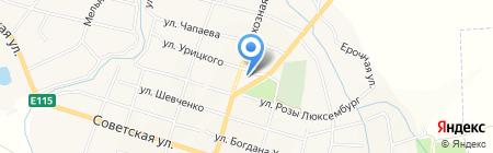 АЗС Роснефть на карте Ахтырского
