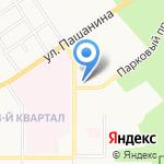 НВ-ойл на карте Новомосковска