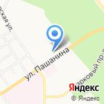 Новомосковский колледж физической культуры и спорта на карте Новомосковска