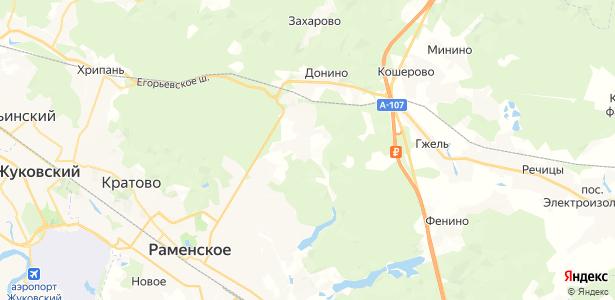 Дементьево на карте
