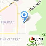 Детский сад №41 на карте Новомосковска