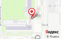 Схема проезда до компании Экострой в Новомосковске