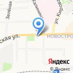 Авангард на карте Донского
