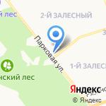 Магазин нижнего белья на карте Новомосковска