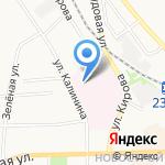 Донская детская городская больница на карте Донского