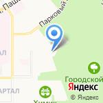 Свято-успенский мужской монастырь на карте Новомосковска