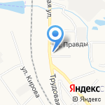 Моисеевка на карте Донского
