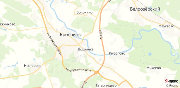 Федино на карте
