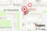 Схема проезда до компании СтройАльянс в Новомосковске