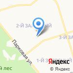 Поликлиника №1 на карте Новомосковска