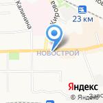 Куриный дом на карте Донского