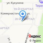 Холидей на карте Новомосковска