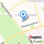Аптека ДВК на карте Новомосковска