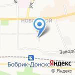 Магазин продуктов на карте Донского