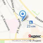 Свежий хлеб на карте Донского