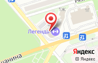 Схема проезда до компании Континент Н Сервис в Новомосковске
