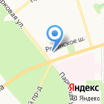 Вдохновение на карте Новомосковска