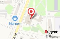 Схема проезда до компании Союзхимпром в Угличе