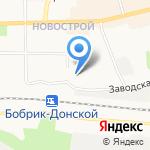 Территориальный отдел Министерства труда и социальной защиты Тульской области на карте Донского