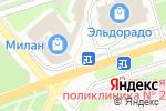 Схема проезда до компании Магазин цветов в Новомосковске