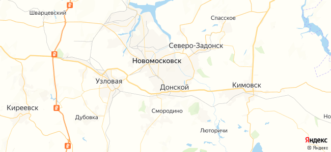 155 маршрутка в Новомосковске