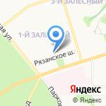 Тульский мобильный планетарий на карте Новомосковска