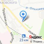 Донской-6 на карте Донского