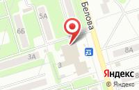Схема проезда до компании Фея в Новомосковске