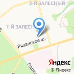 Семья на карте Новомосковска