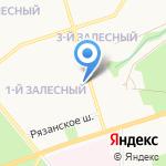 Лига пива на карте Новомосковска