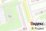 Схема проезда до компании Шелковый путь в Новомосковске