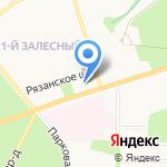 Мебель Шара на карте Новомосковска