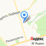 Магазин цветов на карте Новомосковска