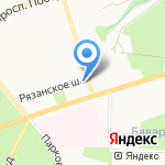 Хаос на карте Новомосковска