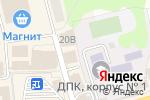 Схема проезда до компании Банкомат, Банк Солидарность в Донском