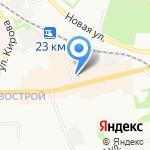 Магазин хозяйственных товаров на карте Донского