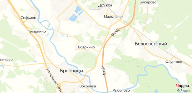 Бояркино на карте
