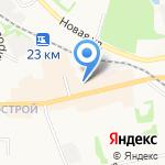 Среднерусская академия современного знания на карте Донского