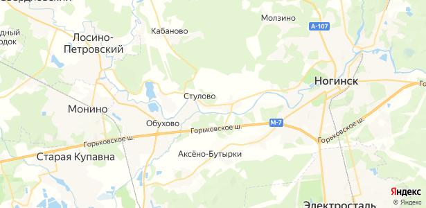 Стулово на карте
